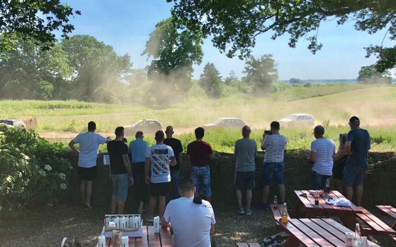 Sjov eftermiddag på Saltoftehus' private racerbane