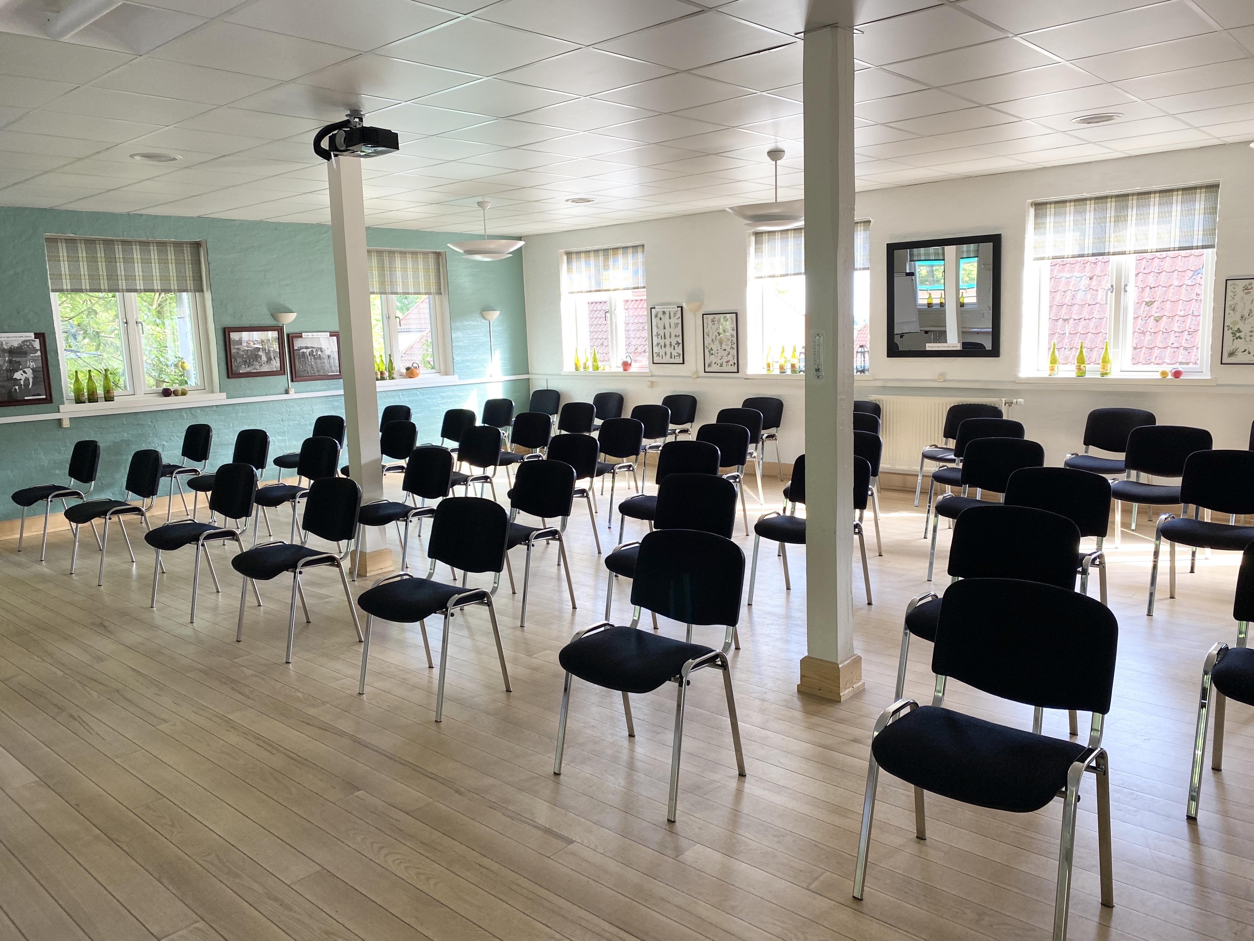 Moderne konferencenter, konferencelokale